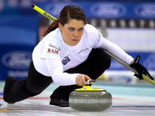 Curler Becca Hamilton of McFarland will get plenty of ice time in South Korea for the Olympics.