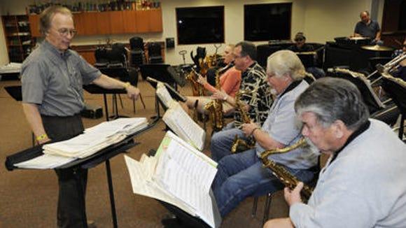 Tulare Community Band Director Bill Ingram.