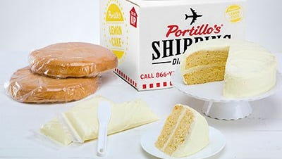 Portillo's is bringing back lemon cake for short time