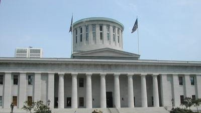 The Ohio Statehouse.