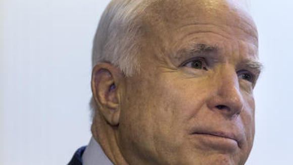 """Sen. John McCain, R-Ariz., was in Mississippi last week to help his embattled colleague Sen. Thad Cochran make his closing argument in his hard-fought runoff. Cochran narrowly defeated his """"tea party"""" challenger. Is McCain the right wing's next target?"""