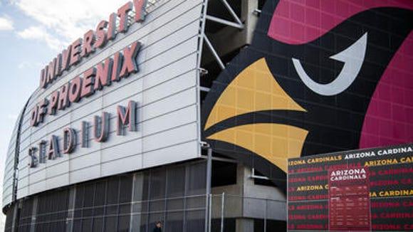 University of Phoenix Stadium in Glendale
