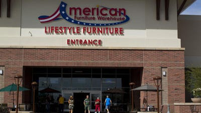 American Furniture Warehouse opens its doors Saturday in one of the West Valley's largest retail-warehouse buildings.