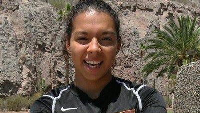 Freshman forward Jazmarie Mader of Chandler is expected to team with Cali Farquharson in leading Arizona State's soccer attack this fall.