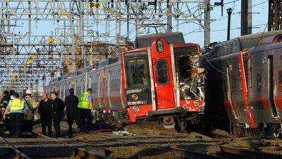 The May 17, 2013, derailment in Bridgeport, Conn., that injured 76 people.