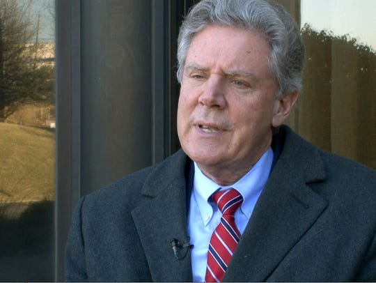 US Congressman Frank Pallone (D-NJ) speaks during an