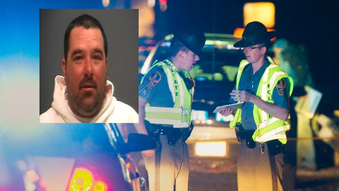 Dennis G. Hoke Jr., 42, of Waynesboro (insert from a DUI arrest in 2008) was pronounced dead at the scene. Hoke was driving a green Ford Windstar minivan Thursday night around 7:30 p.m. when he was pulled over by a state police officer near mile-marker 89 for driving erratically and weaving.