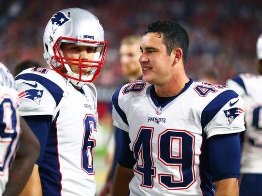 Sep 11, 2016; Glendale, AZ, USA; New England Patriots