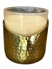 Champagne tumbler candle holder from Rock Farm Home