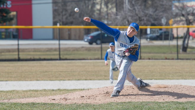 Kellogg Community College sophomore Tyler Bradner has a team-best 75 strikeouts in 50 2/3 innings pitched.