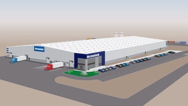 Deceuninck North America is hiring workers for its new Fernley manufacturing plant. The company designs windows and doors for the building industry.