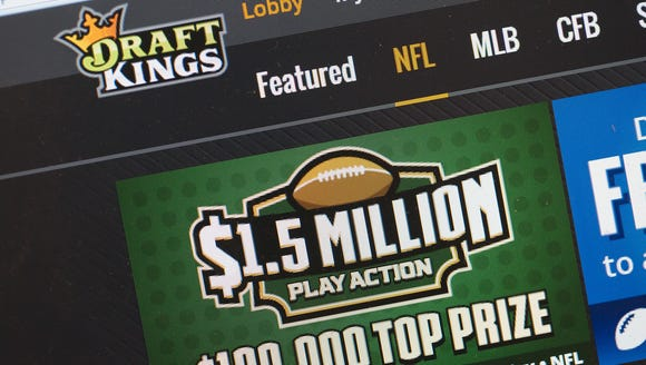 DraftKings is one of two daily fantasy sports websites