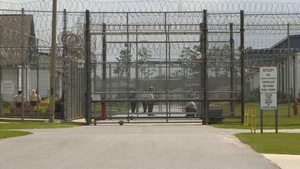 File art of the Santa Rosa Correctional Institute in
