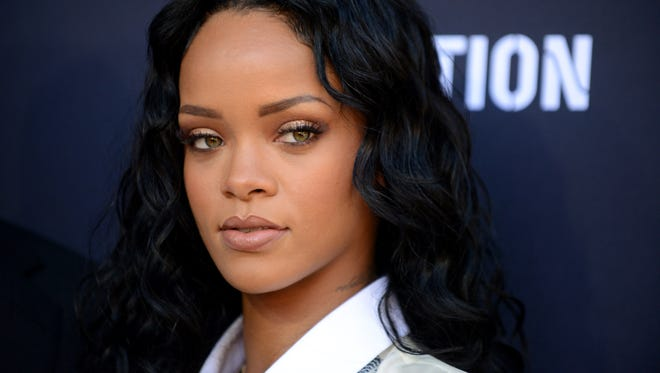 Rihanna, shown in January, will perform at the second annual iHeartRadio Music Awards on March 29, 2015, at the Shrine Auditorium in Los Angeles.