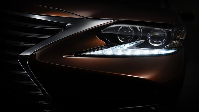 Lexus shows a hint of the look of the next ES sedan