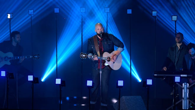 AMERICA'S GOT TALENT -- Episode 1025 -- Pictured: Benton Blount -- (Photo by: Peter Kramer/NBC)