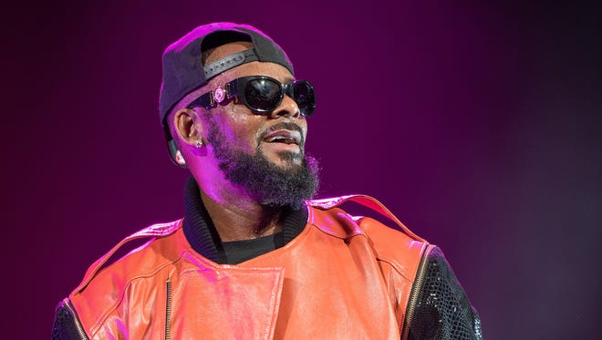 R. Kelly performs in concert at Barclays Center on September 25, 2015 in the Brooklyn borough of New York City.