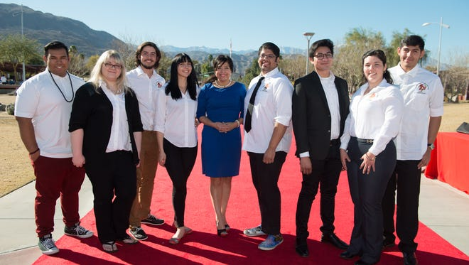 Mary Jane Sanchez-Fulton with Associated Students of COD