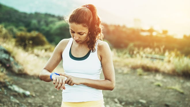 Fitness trackers can help keep track of steps taken, sleep quality and more.