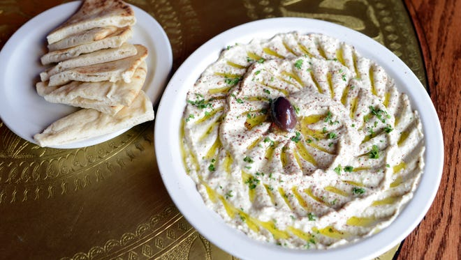 Jerusalem Garden which serves authentic Mediterranean and Middle Eastern Cuisine.