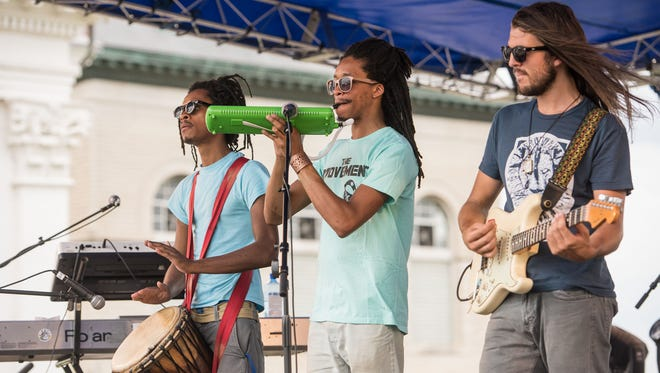 Roots of a Rebellion perform Saturday at the Kentucky Reggae Festival at Louisville Water Tower Park on River Road. May 28, 2016