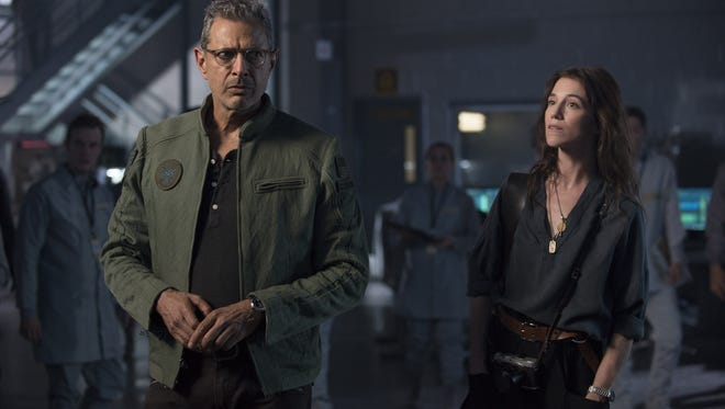 """Jeff Goldblum and Charlotte Gainsbourg investigate the possible return of an alien threat in """"Independence Day: Resurgence,"""" now showing in El Paso-area theathers. See more online at elpasotimes.com."""