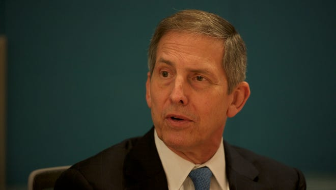 VA  Deputy Secretary Sloan Gibson said the same four callers are tying up phones at the agency's suicide hotline.