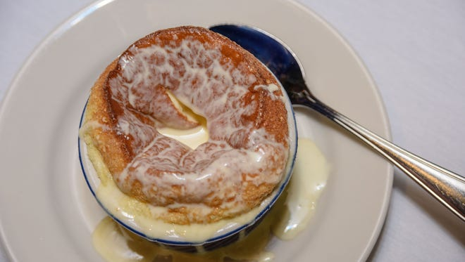 The Grand Marnier Souffle at Z's Oyster Bar & Steakhouse at 101 Whittington Parkway near Hurstbourne Lane and Shelbyville Road. June 29, 2016