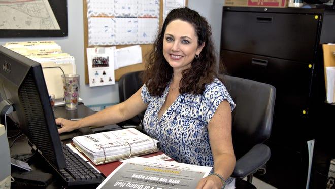 Angie Noble coordinates special projects for the Fondren Renaissance Foundation in Jackson like the Phoenix Initiative and Fondren Renaissance's Music Scholarship Program