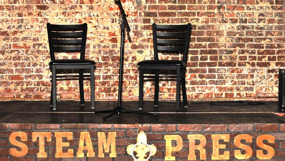Majestic Arts Cafe recently rebranded as Steam Press