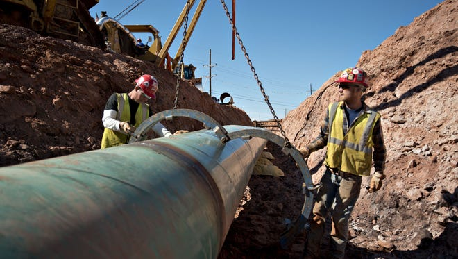 Opponents of the Penn East pipeline have objected to the federal government's review process of the proposal.