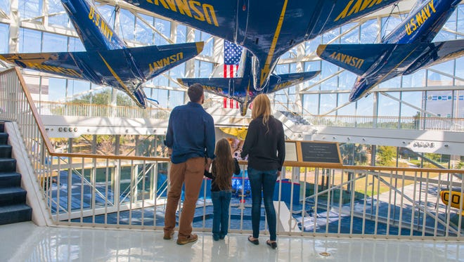 The National Naval Aviation Museum has been named to TripAdvisors top 25 museums in the nation.