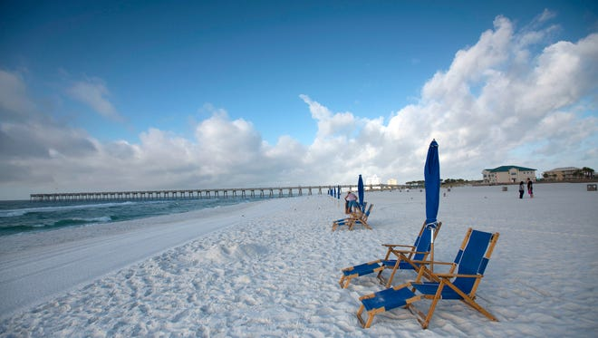 Santa Rosa Island Authority workers have moved the lifeguard towers off Pensacola Beach, signaling the end of the 2016 tourism season,