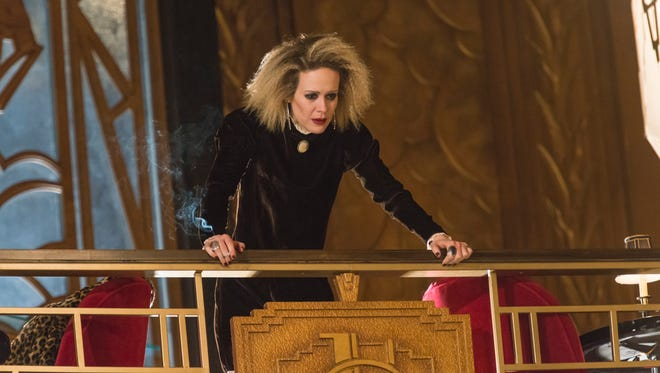 Sarah Paulson in an earlier episode of FX's 'American Horror Story,' among the many series to be available commercial-free to Comcast subscribers.