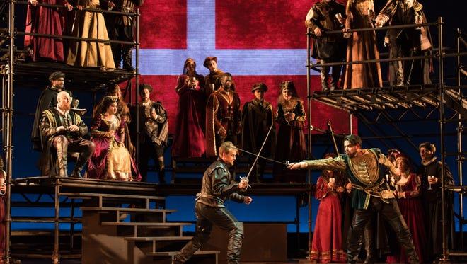 "A scene from ""Amleto"" during OperaDelaware's 2016 Opera Festival. This year, the Opera Festival will celebrate the 225th anniversary of the birth of  Gioachino Rossini."