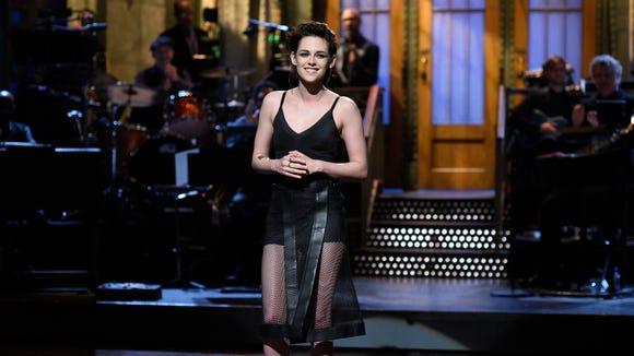 Kristen Stewart hosted 'SNL' on Feb. 4.
