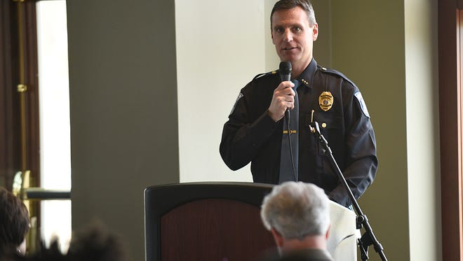 Farmington Public Safety Director Frank Demers said police have responded to an average of 327 false alarms per year over the last five years.