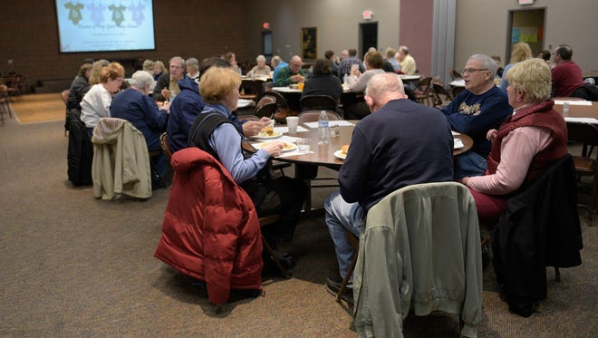 Church of the Holy Spirit in Highland Township serves a free dinner  every Wednesday.