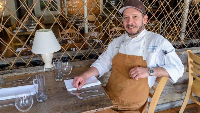 Patrick Roney, executive chef at Harvest, at 624 E. Market St.