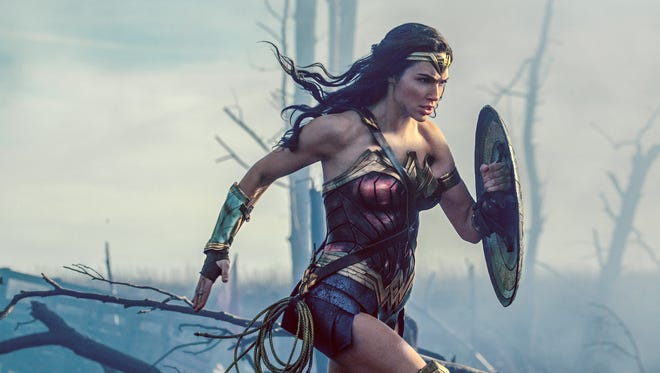 "Gal Gadot as Diana in ""Wonder Woman."""