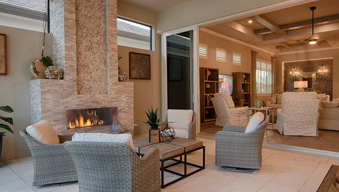 The Monza model has been completed by Divco Custom Homes in Miromar Lakes.