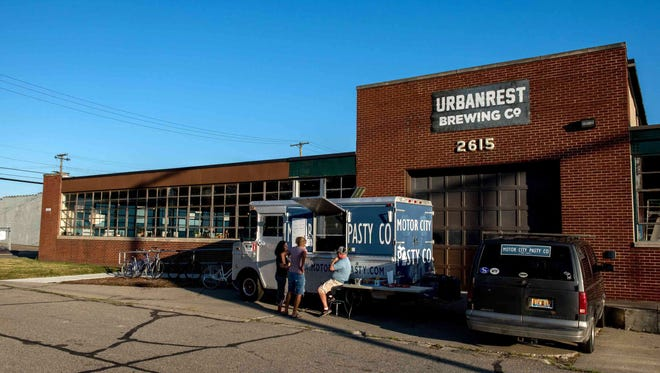 Urbanrest Brewing Co. in Ferndale in 2017. It's opening a second location downtown.