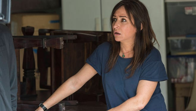 Pamela Adlon earned a best actress nomination for her work in FX's 'Better Things,' a series she co-created with Louis C.K.