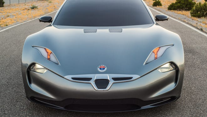 The Fisker EMotion, Henrik Fisker's second try at a volume production car, takes a lot of its visual cues from his failed Karma.