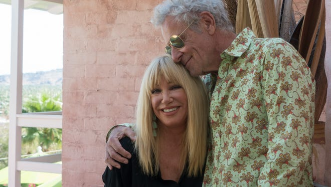 Suzanne Somers' new book, Two's Company, reflects on her fifty year relationship with husband Alan Hamel, November 3, 2017.