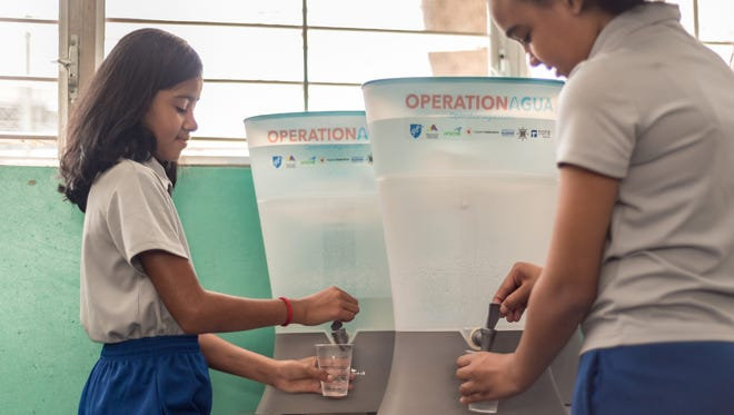 "KOHLER Clarity's ""Operation Agua"" raising money for Puerto Rico water filters"
