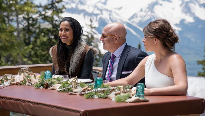 adma Lakshmi, Tom Colicchio and Gail Simmons on 'Top Chef.'
