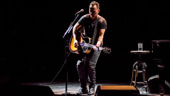 "Bruce Springsteen in ""Springsteen On Broadway."" He will get a special Tony Award."
