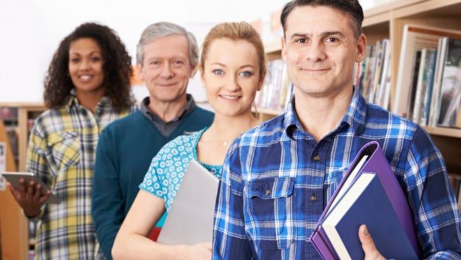 Prepare for a bright future at a technical or community college!