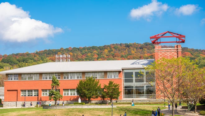 Costello Hall in the Fall